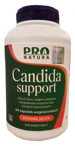 candida support w tabletkach