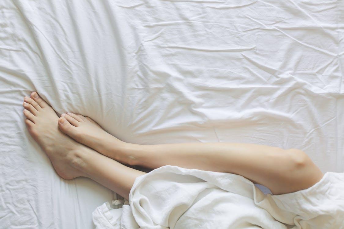 nogi kobieta